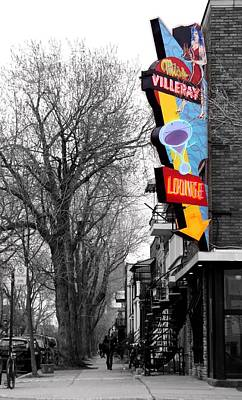 Neon Strip Art Print by Russell Styles