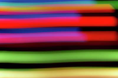 Neon Stripe Art Print