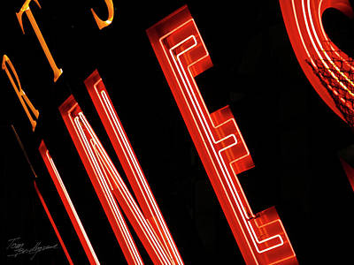 Photograph - Neon by Tom Brickhouse