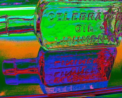 Digital Art - Neon Vessels by Larry Beat