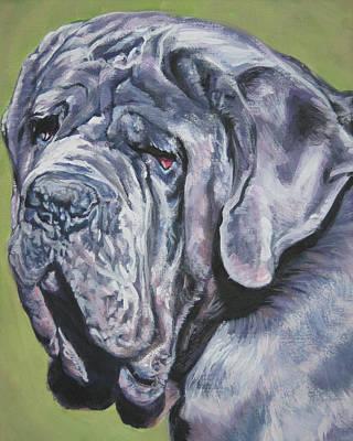 Mastiff Wall Art - Painting - Neopolitan Mastiff by Lee Ann Shepard