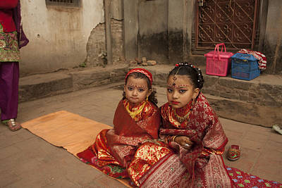 Photograph - Nepalese Tradition by Jed Holtzman