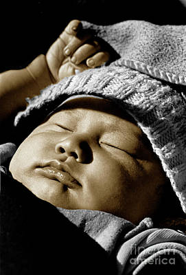 Photograph - Nepali Baby  by Craig Lovell