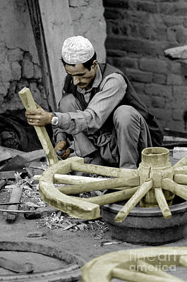 Photograph - Nepali Wood Carver by Craig Lovell