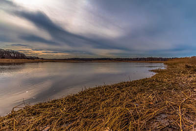 Photograph - Neponset River Marshes by Brian MacLean