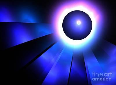 Neptune Eclipse Art Print