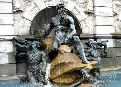 Neptune Fountain 3 Art Print by Randall Weidner
