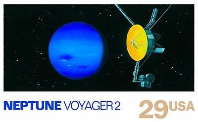 Neptune Voyager 2 Art Print