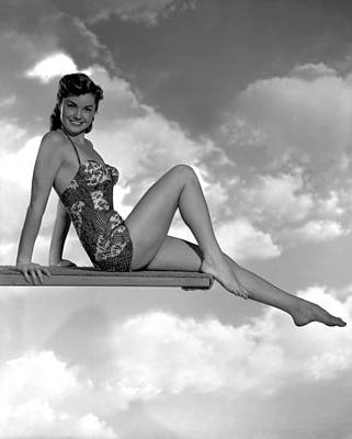 Neptunes Daughter, Esther Williams, 1949 Print by Everett