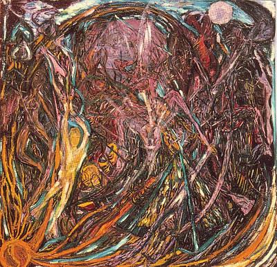 Carl Jung Painting - Neptune's Eye by Alexander Higgins
