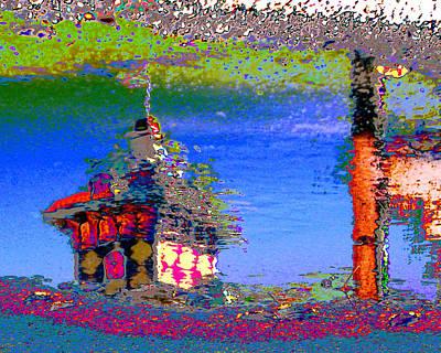 Digital Art - Neptune's Villa by Larry Beat