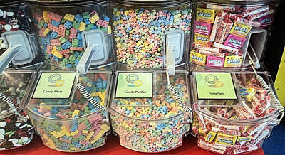 Photograph - Nerds Smarties And More Candies by Robert Banach