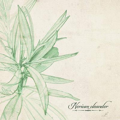 Digital Art - Nerium Oleander by Gina Harrison