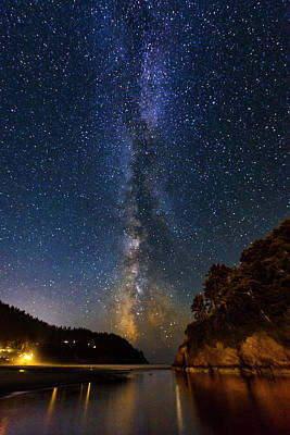 Photograph - Neskowin Milky Way by Ken Aaron