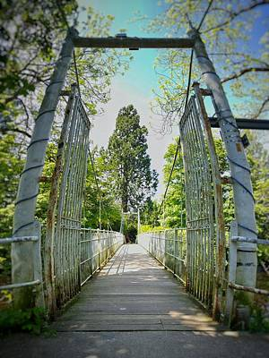 Photograph - Ness Island Footbridge by Joe Macrae