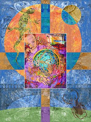 Digital Art - Nest by Mary Ogle