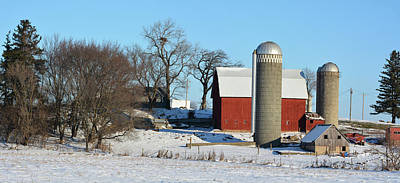 Photograph - Nested Farm by Bonfire Photography