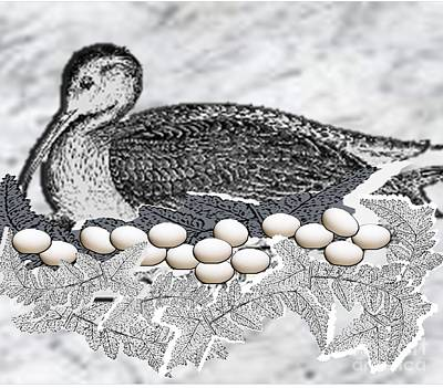 Painting - Nesting by Belinda Threeths