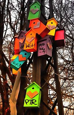 Photograph - Nesting Boxes Copenhagen by Dorothy Berry-Lound