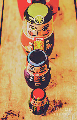 Moustache Photograph - Nesting Dolls by Jorgo Photography - Wall Art Gallery