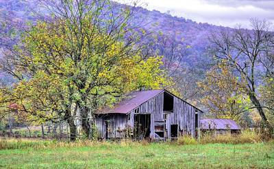 Photograph - Nestled In The Buffalo Valley  by JC Findley
