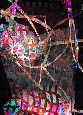 Net Art Print by Dave Kwinter