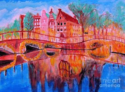 Painting - Netherland Dreamscape by Stanley Morganstein