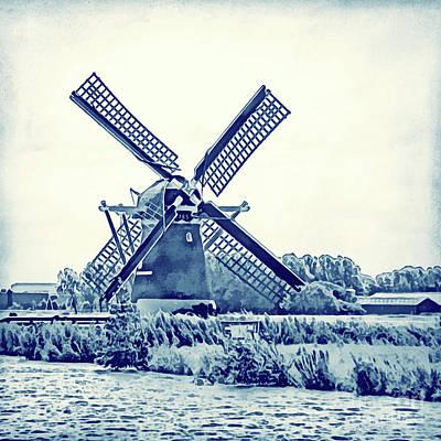 Photograph - Netherlands - Dutch Windmill by Gabriele Pomykaj