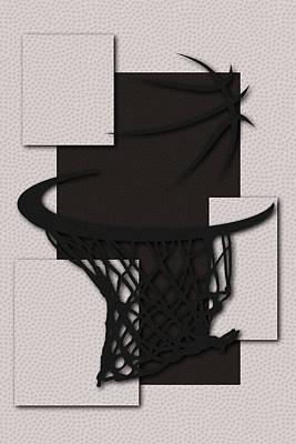 Nets Hoop Art Print