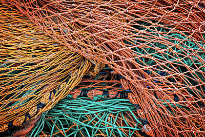 Photograph - Nets On Skye by Bud Simpson