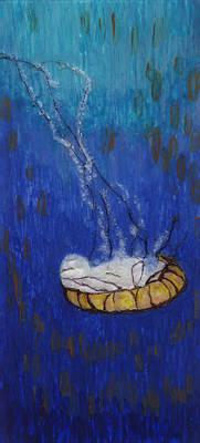 Nettle Jellyfish Art Print