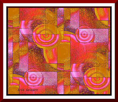 Digital Art - Network 2 by Iris Gelbart