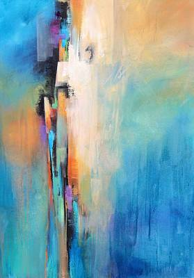 Multi Colored Painting - Network Of Color by Karen Hale