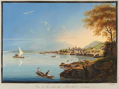 Neuchatel From The Northeast Art Print