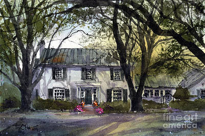 Painting - Neuhoff Home by Tim Oliver