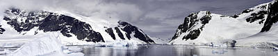 Photograph - Neumeyer Channel - Antarctica by Ralph Fahringer