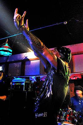 Photograph - Neurotica Show - Band Venue by Amanda Vouglas