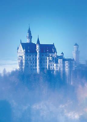 Neuschwanstein Castle Photograph - Neuschwanstein Castle by BONB Creative