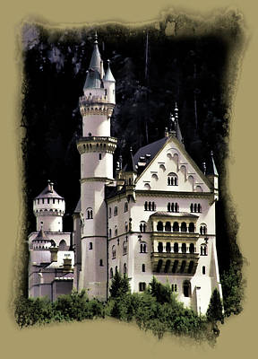 Neuschwanstein Castle Photograph - Neuschwanstein Castle  by Cecil Fuselier