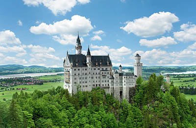 Photograph - Neuschwanstein Castle by Dennis Ludlow