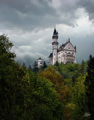 Photograph - Neuschwanstein Castle  by Endre Balogh