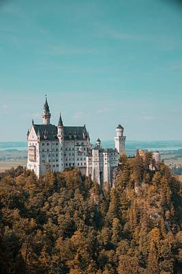 Photograph - Neuschwanstein Castle by Eric Marty