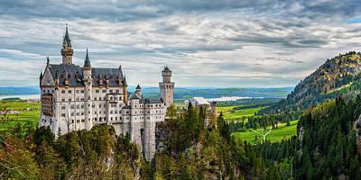 Photograph - Neuschwanstein Castle Germany 1x2-7r2_dsc8471_05122017 by Greg Kluempers