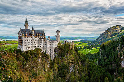 Photograph - Neuschwanstein Castle Germany 7r2_dsc8470_05122017 by Greg Kluempers