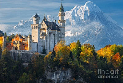 Photograph - Neuschwanstein Castle In Bavaria by Rod Jellison
