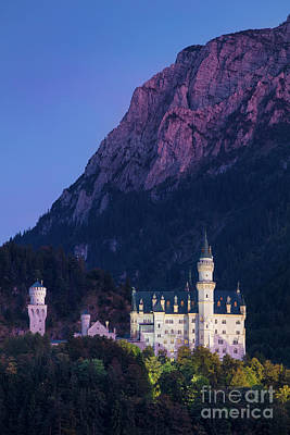 Photograph - Neuschwanstein Evening by Brian Jannsen