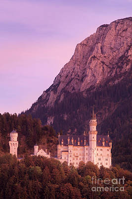 Photograph - Neuschwanstein Evening II by Brian Jannsen