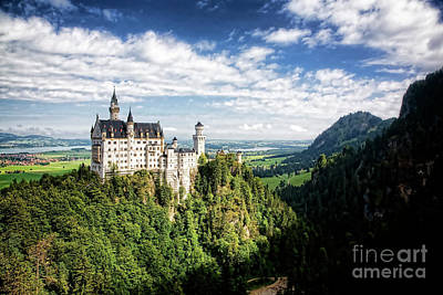 Photograph - Neuschwanstein II by Scott Kemper