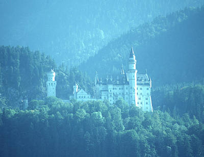 Photograph - Neuschwanstein by John Farley
