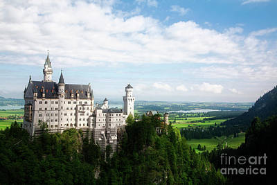 Photograph - Neuschwanstein Overlook by Scott Kemper